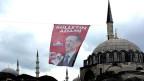 Wahlplakat in Istanbul.