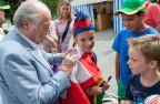 Blatter am Fussballturnier in St. Ulrichen