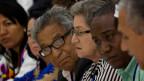 Opfer der FARC und der Regierungstruppen