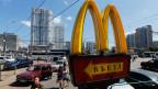 McDonald's Filiale in Moskau, Russland.