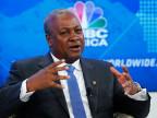Ghanas Präsident Dramani Mahama.