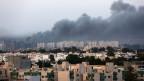 Rauch über Tripoli am 26. August 2014.
