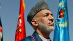 Der afghanische Präsident Hamid Karzai. Wie lange bleibt er noch im Präsidentenpalast?