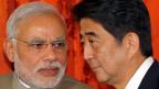 Der neue indische Premier Narendra Modi und sein japanischer Amtskollege Shinzo Abe am 1. September in Tokio.