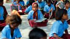 Schulkinder in Indien.