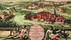 1714 war Baden Zetrum für europäische Friedensverhandlungen.