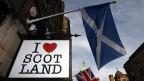 Im Moment haben die schottischen Separatisten die Nase vorn.