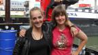 Tabea Schneider und Flavia Zimmermann sind angehende Matrosinnen.