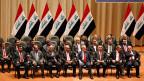 Die neue irakische Regierung.