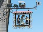 Fassadenschild in Appenzell