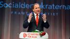 Stärkste Kraft in Schweden wurden bei den Wahlen am Wochenende die Sozialdemokraten. Sie könnten ihren Spitzenkandidaten Stefan Löfven zum nächsten Ministerpräsidenten machen.