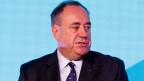 Alex Salmond während einer Pressekonferenz in Edinburgh, Schottland, am 19. September 2014.