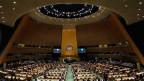 UNO-Generalversammlung in New York.