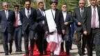 Der neue afghanische Präsident Ashraf Ghani kurz vor der Amtseinführung in Kabul.