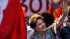 Brasiliens amtierende Präsidentin Dilma Rousseff hofft auf Wiederwahl, Brasiliens Wirtschaft fürchtet eine solche.