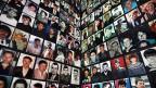 Fotos von Opfern des Bosnienkrieges 1992-1995.