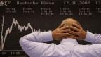 An der Börse handeln sogenannte Hochfrequenzhändler in Sekundenbruchteilen.