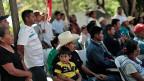 Angehörige der verschwundenen Studenten von Iguala.