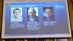 Diedrei Preisträger des diesjährigen Nobelpreises für Chemie.