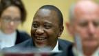 Kenias Präsident Uhuru Kenyatte vor dem Internationalen Strafgerichtshof in Den Haag.