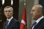 Nato-Generalsekretär Stoltenberg trifft in Ankara den türkischen Aussenminister Cavusoglu.