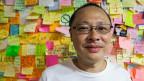 Benni Tai, Aktivist der Hongkonger Demokratie-Bewegung.