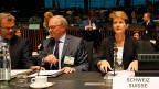 Justizministerin Simonetta Sommaruga am Treffen der EU-Innen- und Justiz-Minister in Luxemburg.