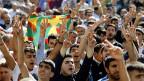 Kurdische Demonstranten protestieren gegen die diffuse Haltung der Türkei im Kampf gegen den «Islamischen Staat».
