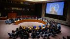 Der UNO-Sicherheitsrat der Vereinten Nationen im UNO-Hauptquartier in New York am 14. Oktober 2014.
