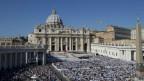 Abschlussmesse der Synode im Vatikan.