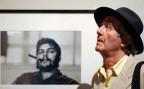 René Burri vor seinem wohl bekanntesten Bild von Che Guevara