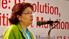 Die tunesische Journalistin Sihem Bensedrine.