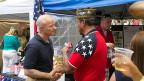 Mike Coffman (links), Kriegsveteran, Republikaner, vertritt den Bezirk Colorado seit sechs Jahren in Washington.