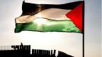 Palästinensische Flagge.