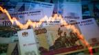 Die grosse Mehrheit der Russinnen und Russen hat das Vertrauen in die eigene Währung verloren.