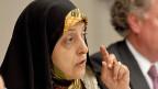 Massoumeh Ebtekar, eine von drei iranischen Vizepräsidentinnen.