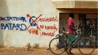 Strassenszene in Ouagadougou, Hauptstadt von Burkina Faso.