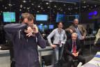 Freude bei der Europäischen Weltraumagentur ESA