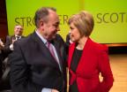 Sturgeon und ihr Vorgänger Salmond