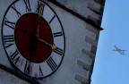 Der Kirchturm von Hohentengen