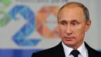 Der russische Präsident Putin am G-20-Gipfel in Brisbane.