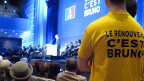 «Der Neue ist Bruno» steht auf dem T-Shirt eines Wahlhelfers. Bruno Le Maire setzt darauf, anders zu sein – vor allem anders als Nicolas Sarkozy.
