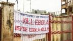 Ebola-Sensibilisierungs-Kampagne in Freetwon, Sierra Leone