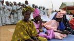 Senegalesische Frauen während einer Veranstaltung in Matam, Senegal.