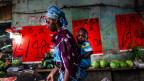 Selbst auf den Frischmärkten des Xiaobei-Quartiers sind Afrikaner mittlerweile die grösste Kundengruppe.