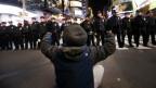 Protest gegen Polizeigewalt in den USA.