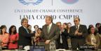 Die Delegierten an der Klimakonferenz in Lima handelten einen Kompromiss aus.