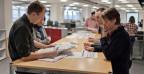 Redaktionssitzung in der NZZ