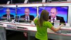 Russlands Präsident Putin hat in seiner TV-Ansprache die russische Bevölkerung auf längere Krisenzeiten eingeschworen - ein, zwei Jahre vielleicht, mit Budgetkürzungen, aber sicher nicht im sozialen Bereich, bei den Renten, meinte er.