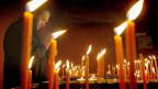 Gedenkfeier in Erinnerung an die Menschen, die während der Revolution ihr Leben verloren. 17. Dezember 2014.
